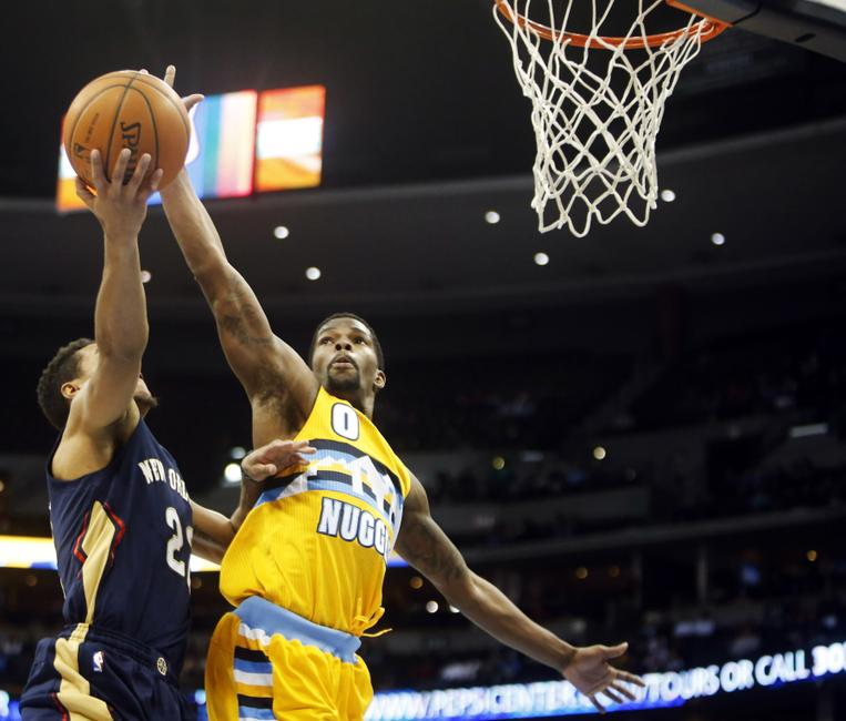 Kenneth Faried's Career-High Night Helps Denver Nuggets